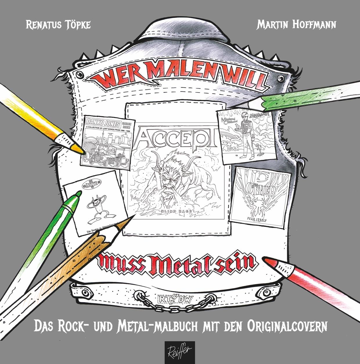 Töpke / Hoffmann: Wer malen will, muss Metal sein!
